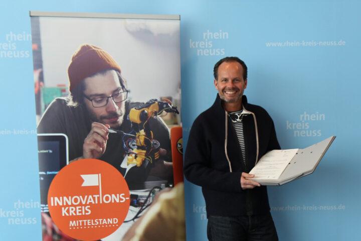 Günter Huhle mit Innovationspreis RHEINLAND GENIAL