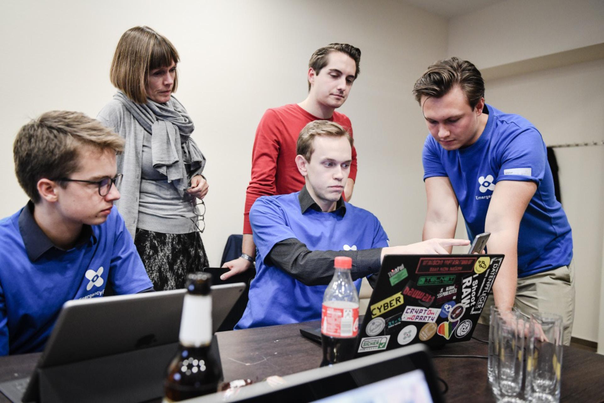 Impressionen Hackathon am Ring 2019