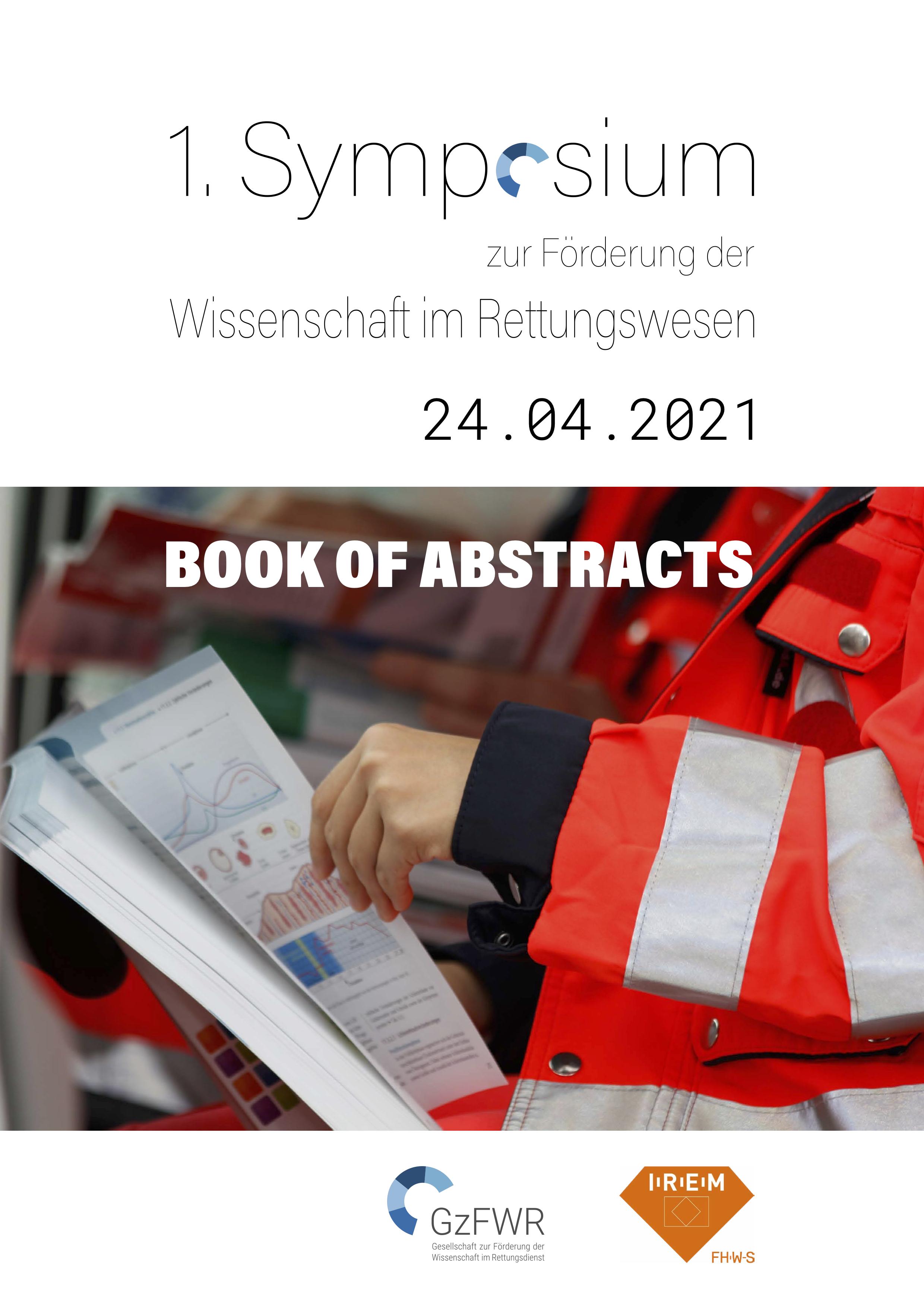 Prof. Dr. Huhle präsentiert auf dem 1. Symposium zur Wissenschaft im Rettungswesen die Daten zu EmergencyEye in der Katastrophenschutzübung in Magdeburg