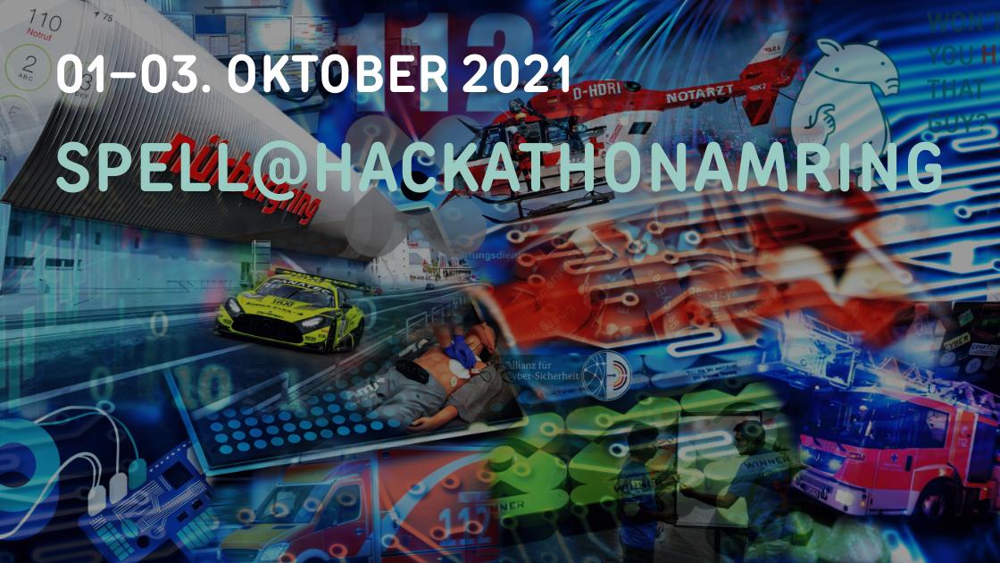 01.–03. Oktober 2021 SPELL@hackathonamring
