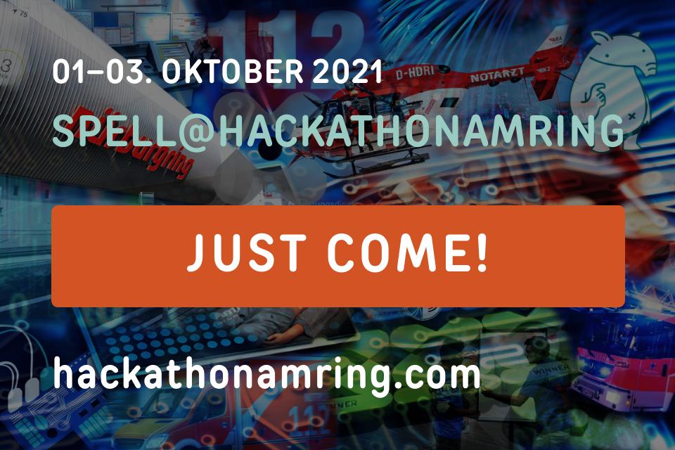 SPELL@Hackathonamring – JUST COME!