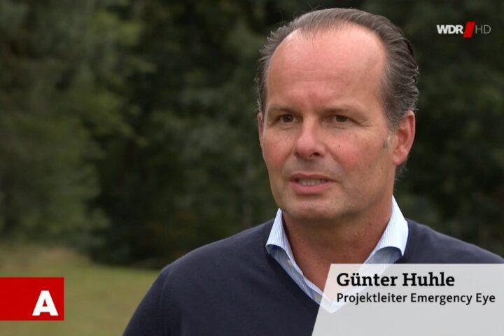 Günter Huhle im Interview mit dem WDR