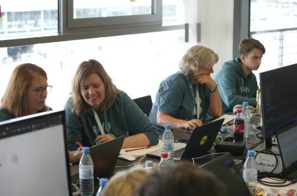 Impressionen Hackathon am Ring 2021